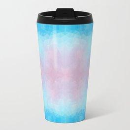 Mozaic design in soft pastel colors Travel Mug