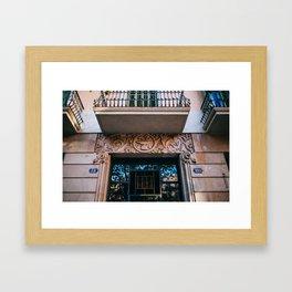 Eixample - Barcelona, Spain - #38 Framed Art Print