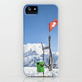 Grindelwald First - Switzerland iPhone Case