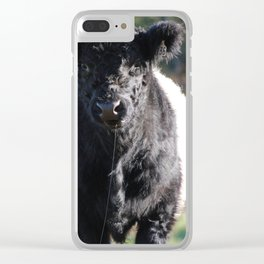 Got Beef? Clear iPhone Case