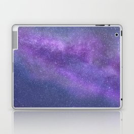 Deep Purple Milky Way Stars Laptop & iPad Skin