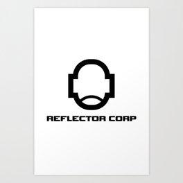 REFLECTOR Logo Art Print