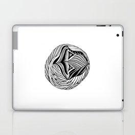Zentangle Circle Laptop & iPad Skin