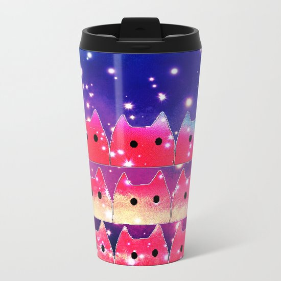 cat-118 Metal Travel Mug