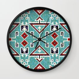 Native American Navajo pattern Wall Clock