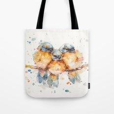 Little Bluebirds Tote Bag