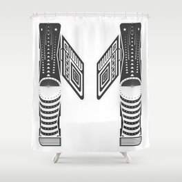 "Tao ""Letter M"" Shower Curtain"