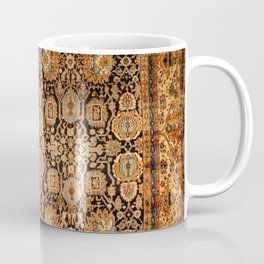 Antique Persian Malayer Rug Print Coffee Mug