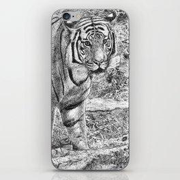Malayan Tiger (Harimau) iPhone Skin