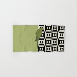 Parrot Checkers Hand & Bath Towel