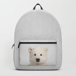 Polar Bear - Colorful Backpack