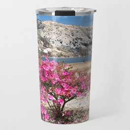 Azaleas in dry land Travel Mug