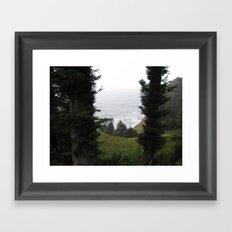 One Last Look Framed Art Print