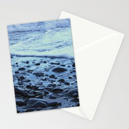 Waves on the Beach Photography Print Stationery Cards