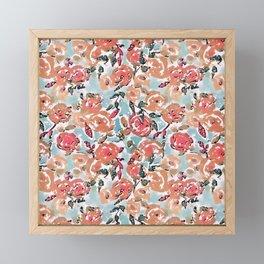 Spring Flor Adore Framed Mini Art Print
