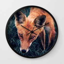 The Red Fox Wall Clock