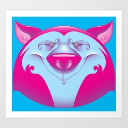purpanda Art Print