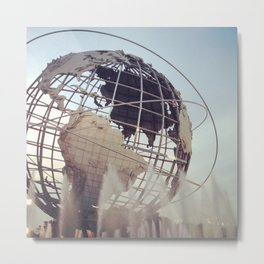 The World, Arthur Ashe Metal Print