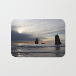 Pillars of the Sea Bath Mat