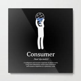 Consumer Metal Print