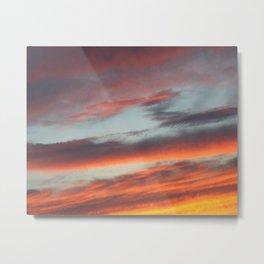 Berkshire Sunset I Metal Print
