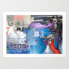 Information Exchange Art Print