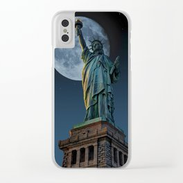 Liberty Moon Clear iPhone Case