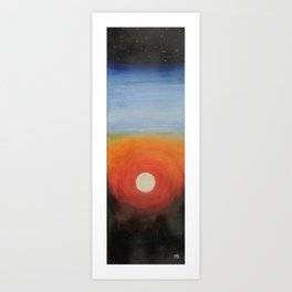 Sun Void Art Print