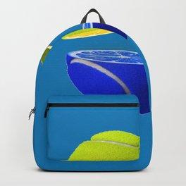 Tennis ball lemon Backpack