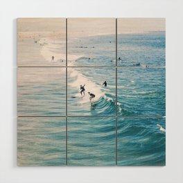 Catch A Wave Wood Wall Art