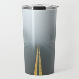 Driving through Fog Travel Mug