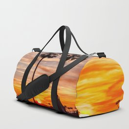 Santa Monica Sunset Duffle Bag