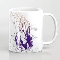 lana Mugs featuring Lana by Pesim0