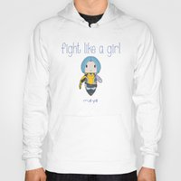 borderlands Hoodies featuring Fight Like a Girl | Maya - Borderlands by ~ isa ~