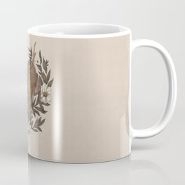 Floral Elk Coffee Mug
