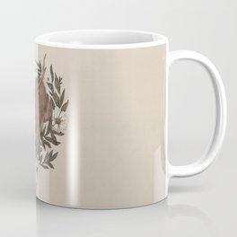 Floral Elk Coffee Mug