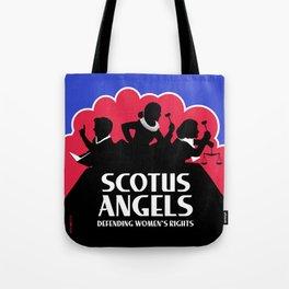 SCOTUS Angels - Tools of Law Nonviolent (Gun-Free) Edition Tote Bag