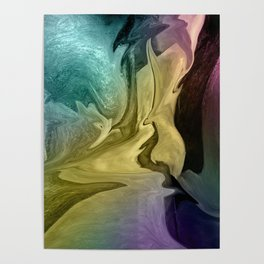Liquid Abstract Poster
