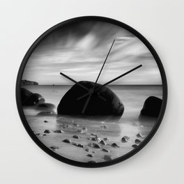 Hidden Bowling Ball Beach Northern California Wall Clock