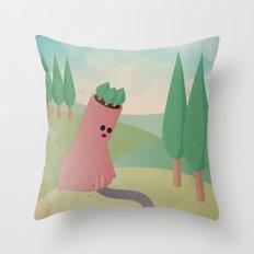 t e s t a a l b e r a t a Throw Pillow