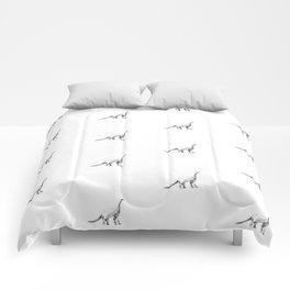 Diplodocus pattern. Comforters