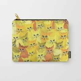 Yellowstone Whimsical Cats Carry-All Pouch