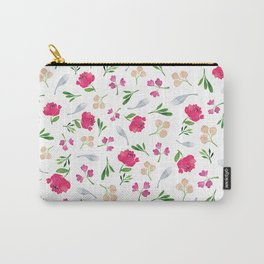 Spring Florals Carry-All Pouch