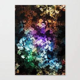 Black garden Canvas Print