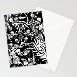 Tropical Skull Valley Stationery Cards