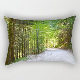 Germany forests in Bayern region - Fine Art Travel Photography Rectangular Pillow