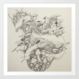Slug Lord Art Print