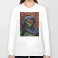 occult Long Sleeve T-shirts featuring Occult Macabre by Chris Moet