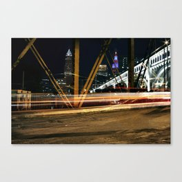 Cleveland Streaks  Canvas Print
