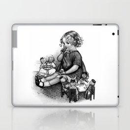 Playing with Dolls Laptop & iPad Skin